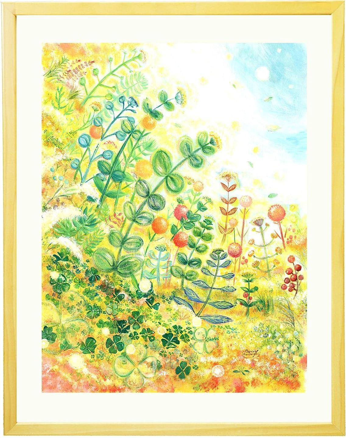 出席私靴絵画 インテリア グリーン 「grow」 額入り(ミニ) 観葉植物 卓上 壁掛け ナチュラル キッチン 北欧 雑貨 人気ランキング