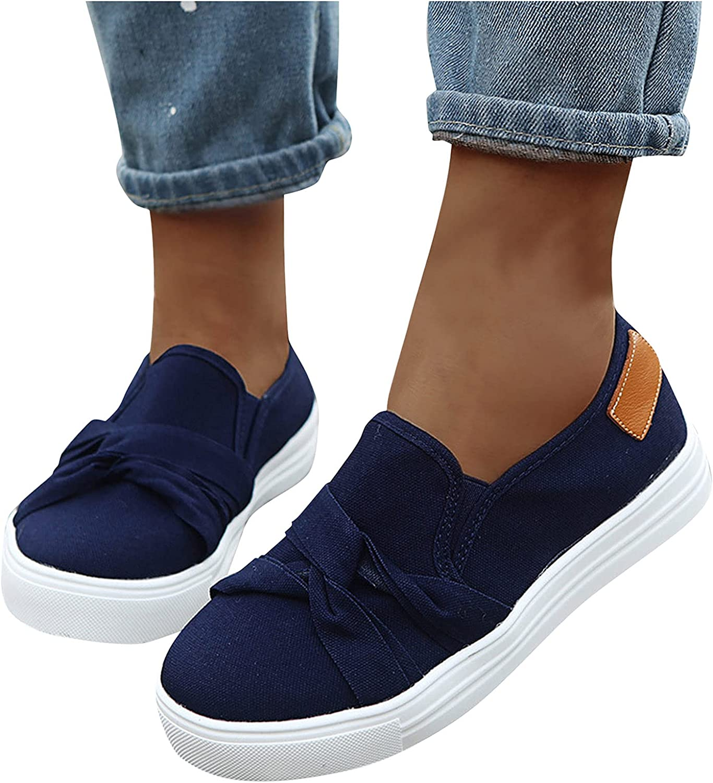 SALIFUN Womens Comfy Canvas Shoes, 2021 Fashion Sports Sneaker S