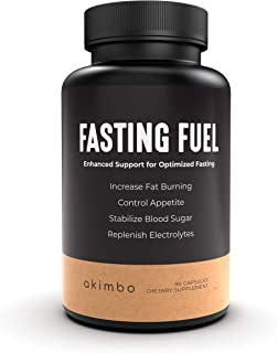 Fasting Fuel - All-in-One Intermittent Fasting & Keto Supplement, Appetite Suppressant, Electrolyte Hydration, Weight Loss...