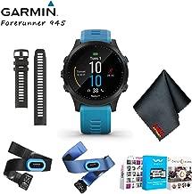 Garmin Forerunner 945 GPS (Tri-Bundle,Blue) Running Smartwatch Music, with Home Fitness Solution