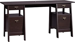 Sauder Stockbridge Executive Trestle Desk, L: 59.06