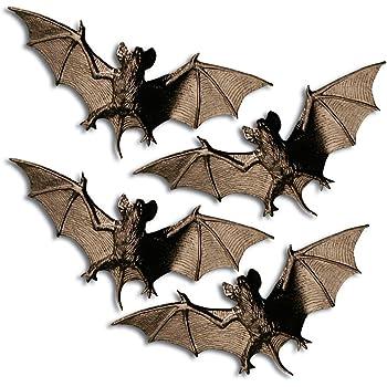Net Toys Fledermause Als Halloween Deko Dekoration Halloweendekoration Halloweendeko Fledermaus Gruseldeko Amazon De Spielzeug