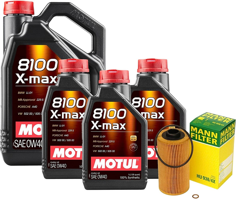 8L 8100 X-MAX 5 ☆ very popular 0W-40 Filter Engine Motor V8 Z8 kit 4.8L Ranking TOP1 E52 Oil 2