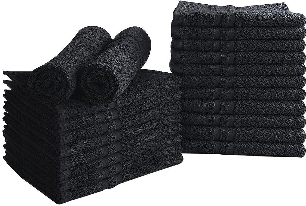 Utopia Towels Bleach Proof Salon Towels, (24 Pack, 16 x 27 Inches), Bleach Safe Cotton Towels
