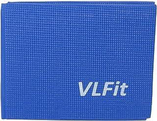 comprar comparacion VLFit Esterilla de Yoga Antideslizante - Colchoneta de 173 x 61 x 0,6cm - Alfombra Plegable para Entrenamiento Gimnasia y ...