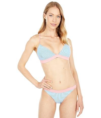 Southern Tide Retreat Seersucker Bikini Top