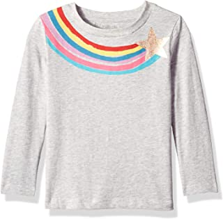 Gymboree Girls' Big Long Sleeve Graphic Tee