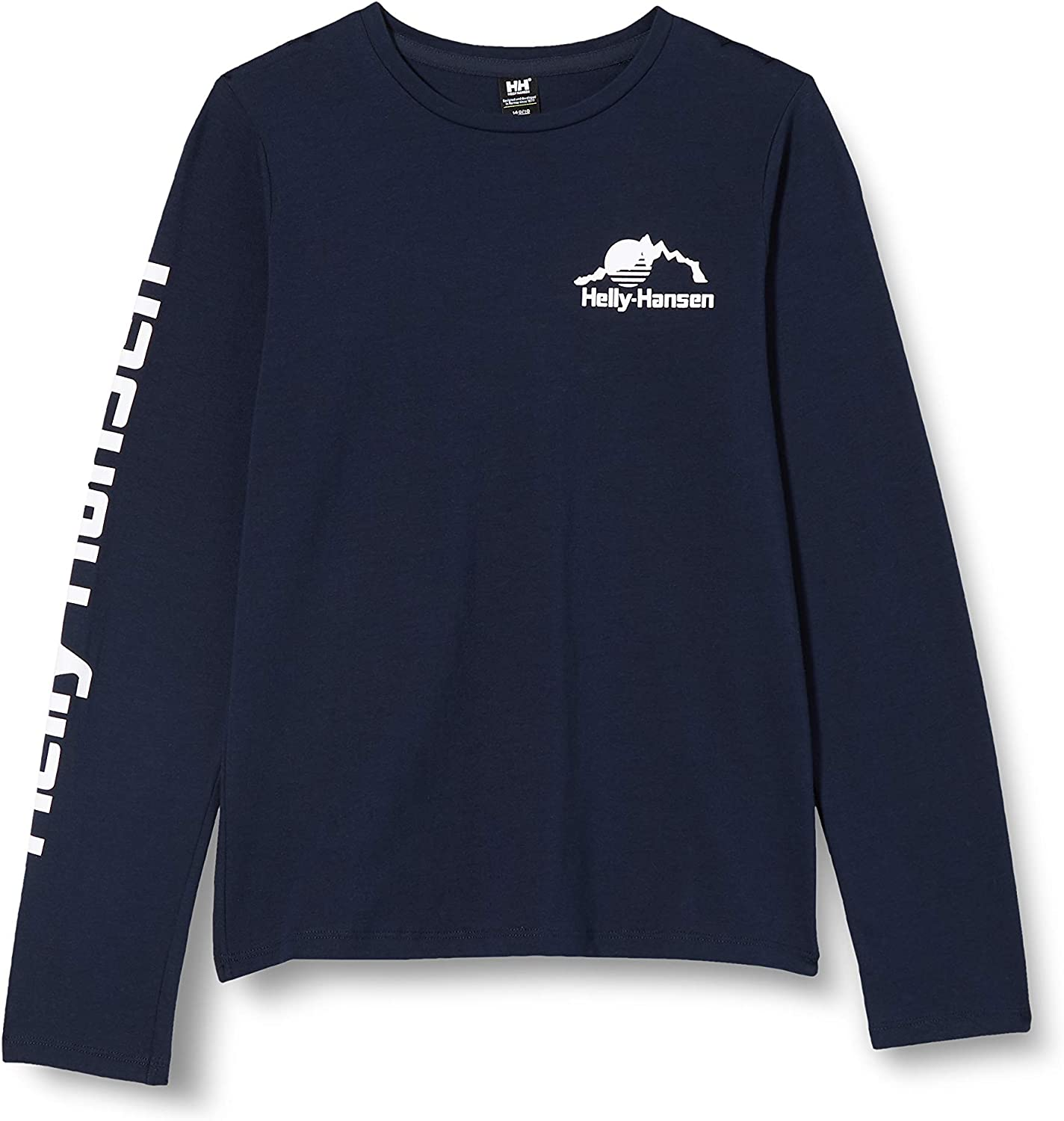 Helly-Hansen Unisex-Child Printed Hh Long-Sleeve T-Shirt Max 78% OFF Max 76% OFF Graphic