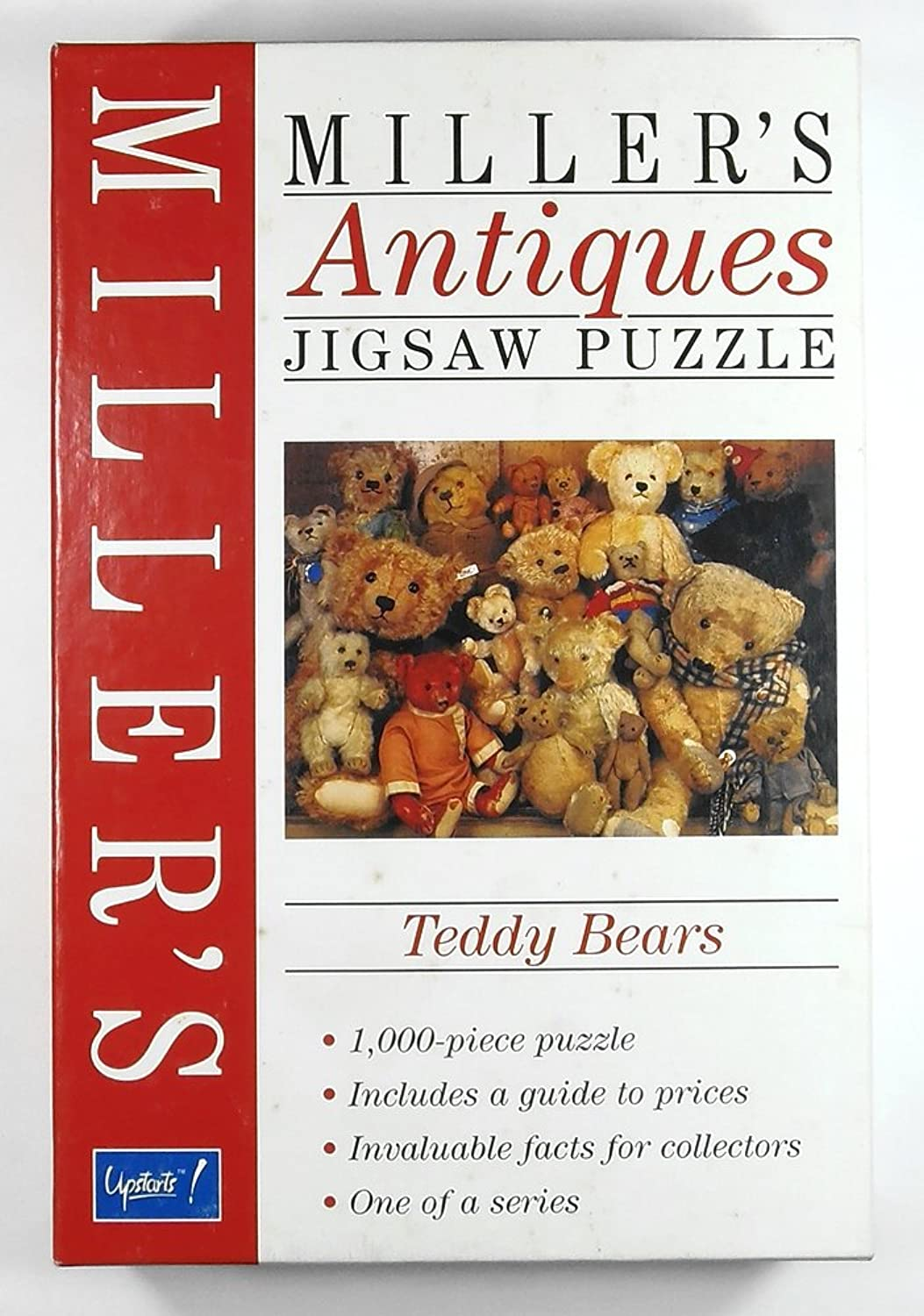 BePuzzled 1,000pc Jigsaw Puzzles  Miller's Antiques  Teddy Bears