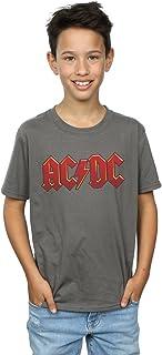 Desconocido AC/DC Niños Dark Red Logo Camiseta