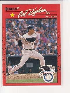 1990 Donruss Cal Ripken Jr. No 676 Baltimore Orioles