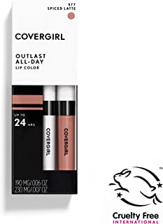 COVERGIRL Outlast All-Day Moisturizing Lip Color Spiced Latte 577 [並行輸入品]