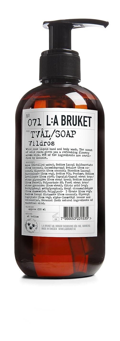 出席する石化するフルーツ野菜L:a Bruket (ラ ブルケット) ハンド&ボディウォッシュ (ワイルドローズ) 250g