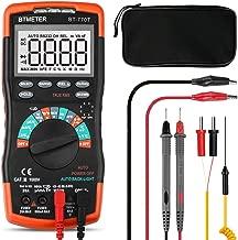 SMD Tester AP-990C 5999 Cuenta Probador de SMD Mult/ímetro Digital Rango Autom/ático Resistencia Capacitancia Tester de Mano con Zumbador de Continuidad,Prueba de Diodos,Prueba de Bater/ía,Valor Relativo