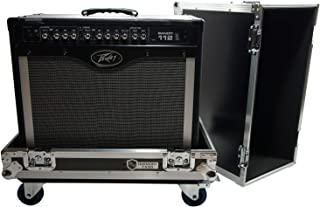 Harmony HCGC212C Universal 1X12 Electric Guitar Combo Amp Rolling Flight Case
