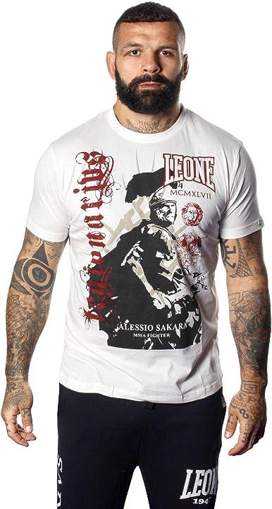 Leone t-shirt da uomo legionarivs maniche corte legio 01