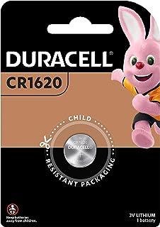 Duracell Duracell 1620 Lithium Coin 3V, 1 Pack (CR1620/DL1620),