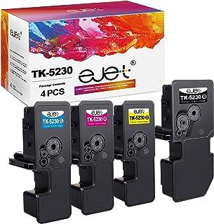ejet TK-5230K kompatybilny z Kyocera TK 5230 TK5230 Toner do Kyocera Ecosys M5521CDN M5521CDW P5021CDN P5021CDW (1 czarny ...