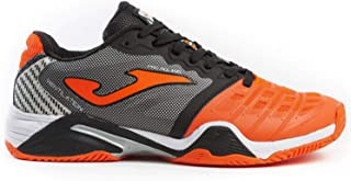 Joma Tennis Shoes for All The Lands T_PRO Roland 908 Orange-Black