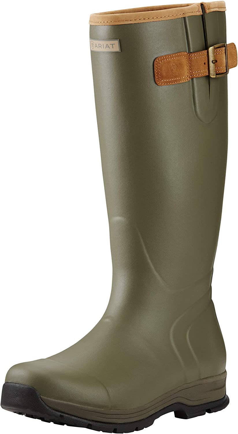 ARIAT Men's Burford Waterproof Rubber Boot