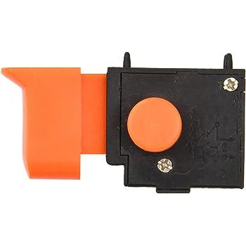 4A 250V//8A 125V BWS 115-580 Compatible con 115//125mm Amoladora Angular BT-AG500 DK2P4 Interruptor para Amoladora Angular Interruptor de Repuesto FA2-5//2F Modelo: FU2-4//2F