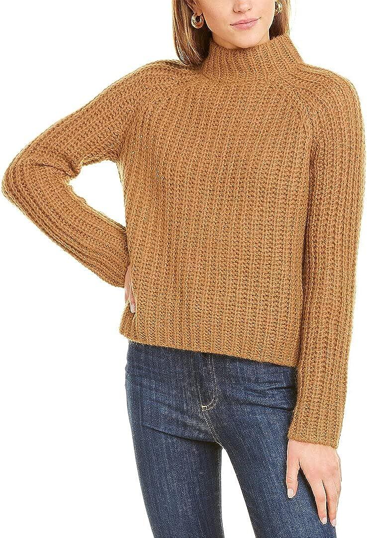 Vince Women's Marled Raglan Pullover