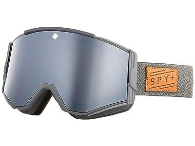 Spy Optic Ace (Herringbone Gray Hd Plus Bronze w/ Silver Spectra Mirror + Hd) Goggles