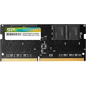 Silicon Power 8GB-DDR4-RAM-2400MHz (PC4 19200) 260 Pin SO-DIMM 1.2V Laptop Memory