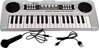 Toyshine 37 Keys Piano with DC output, Mobile Charging (USB Included) and Microphone - 2