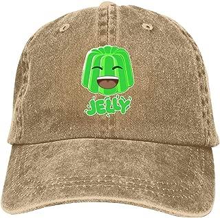 LeoCap Jelly Baseball Cap Unisex Washed Cotton Denim Hat Adjustable Caps Cowboy Hats