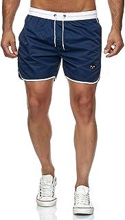 Bañadores de natación Pantalones Cortos de los Hombres de Secado rápido Playa Surf Corriendo Pantalones Cortos de natación Boxeadores Ligero Shorts