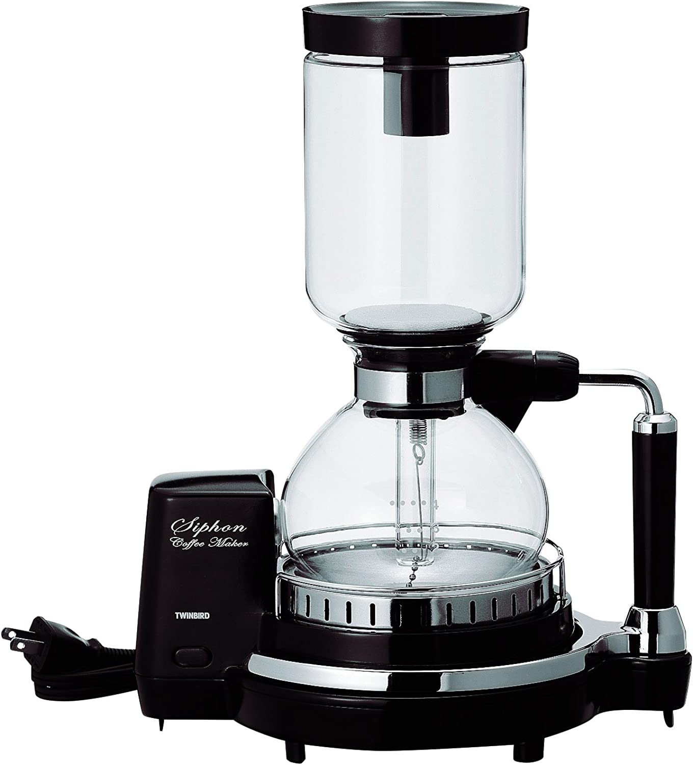 TWINBIRD siphon coffee maker CM-D854BR (Brown)