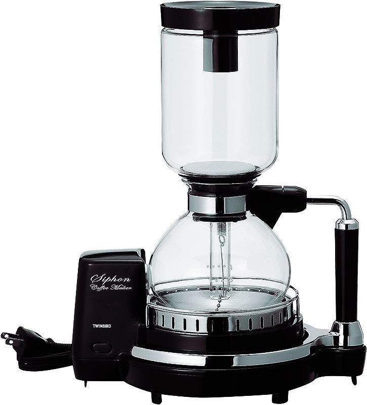 TWINBIRD Siphon Coffee Maker CM D854BR Brown