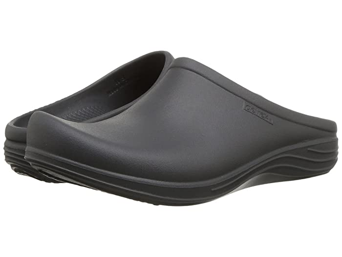 Aetrex  Lynco Clog (Charcoal) Womens Clog Shoes