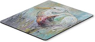 Caroline's Treasures White Egret Mouse Pad/Hot Pad/Trivet (JMK1189MP)