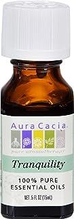 Aura Cacia 100 Percent Pure Tranquility Essential Oil Blend, 0.5 Ounce - 6 per case.