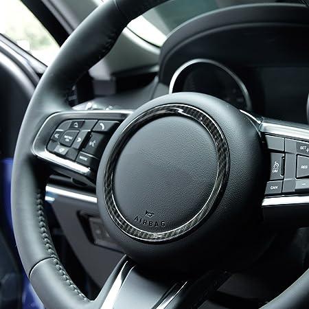Aluminiumlegierung Lenkraddekoration Aufkleber Ringabdeckung Für Jaguar Xf Xe E Pace F Pace F Type Silver Auto