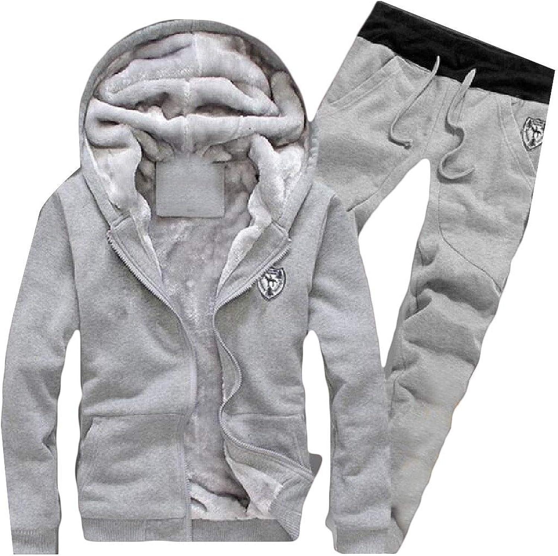 Abetteric Mens Plus Size Athletic Jacket