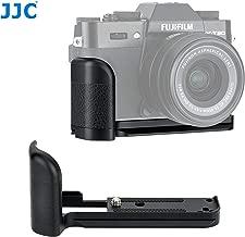 JJC HG-XT30 Aluminum Aloy Hand Grip for Fuji X-T20 X-T30, Arca Swiss Type Quick Release Camera Grip Holder for Fujifilm X-T20 X-T30, Fuji XT30 Hand Grip, w Anti Slip Pad, As Fujifilm MHG-XT10 Grip