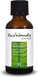 Aceite del árbol del té Bushlands Essentials 100 % natural