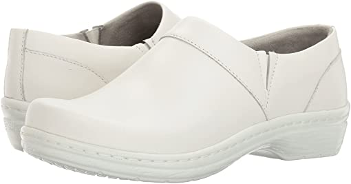 White Smooth Leather