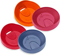Tervis 16 oz. Travel Lids (Set of 4) | Great For Both Hot and Cold Liquids | Dishwasher Safe (Top Rack Only)