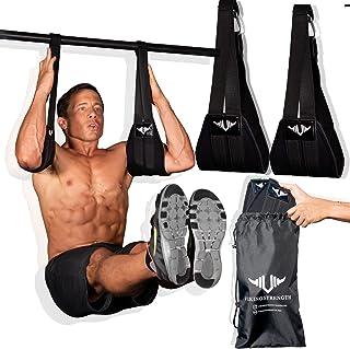 Vikingstrength AB Straps for six Pack - Home Gym Exerciser Ab Slings Pair for Pull up bar - Hanging Leg Raiser Fitness - W...