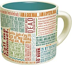 First Lines Literature Coffee Mug - The Greatest Opening Lines Of Literature, From Anna Karenina to Slaughterhouse Five - ...