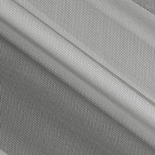 Telio Stretch Nylon Shaper Mesh Grey, Fabric by the Yard