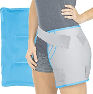 Arctic Flex Large Ice Pack - Reusable Cold or Hot Gel Wrap for Injuries - XL, Flexible, Soft for Back, Knee, Shoulder, Ankle, Back and Elbow - Long Lasting Multi-Purpose Compress Therapy for Legs