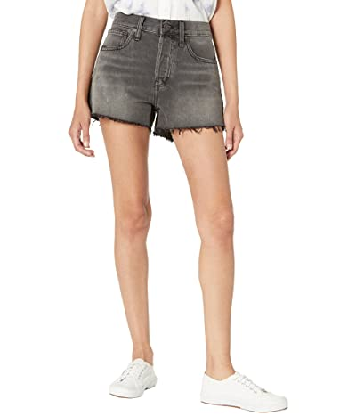 Madewell Relaxed Boy Denim Shorts in Beinville Wash