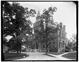 Vintography 8 x 10 Ready to Frame Pro Photo of Library Museum Michigan Agricultural College Michigan State University East Lansing Mich 1913 Detriot Publishing 83a