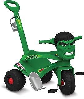 Velocípede Passeio e Pedal Hulk, Bandeirante, Verde