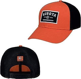 Kubota Gear Patch w/Mesh Cap Orange/Black